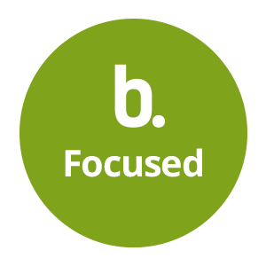 B-Focused logo